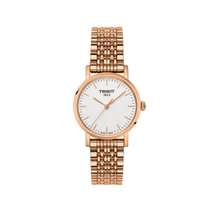 Tissot Everytime T1092103303100 Rose Gold Plated Womens Watch
