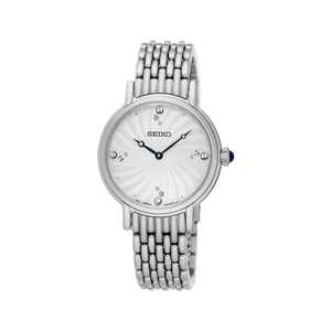 Seiko SFQ805P Crystal Set Womens Watch