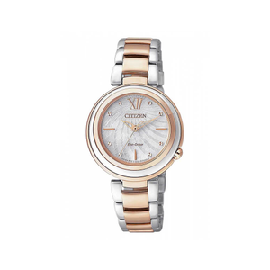 Citizen Eco-Drive EM0335-51D Two Tone Womens Watch