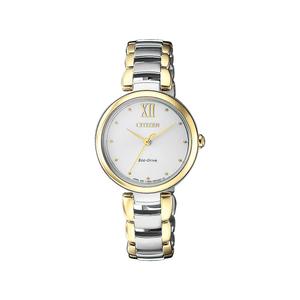 Citizen Eco Drive EM0534-80A Ladies Two Tone Watch