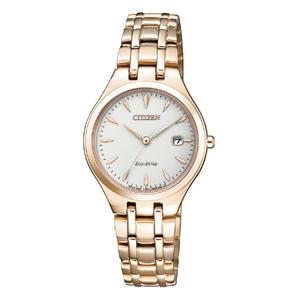Citizen Eco Drive EW2483-85B Gold Tone Ladies Watch