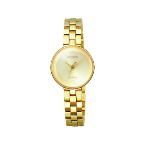 Citizen Eco-Drive EW5502-51P Gold Tone Womens Watch