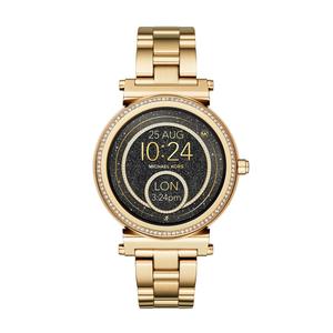 Michael Kors MKT5021 Gold Plated Smart Watch