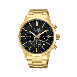 Pular PT3748X Mens Gold Watch