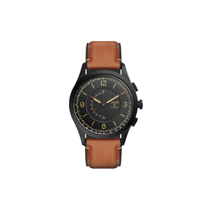 Fossil 'Q Activist' FTW1206 Tan Leather Gents Watch