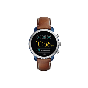 Fossil 'Q Explorist' Connected Tan Strap Gents Watch
