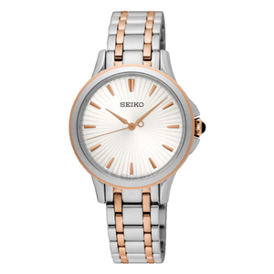 Seiko SRZ492P Rose Gold Plated Stainless Womesn Watch