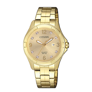 Citizen EU608457A Gold Ladies Watch
