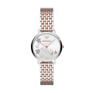 Armani AR11112 Stainless Steel Rose Gold Ladies Watch