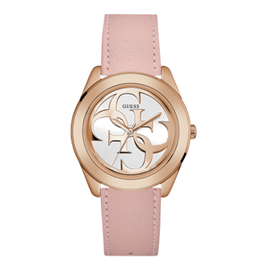 Guess W0895L6 Ladies Pink Logo Watch