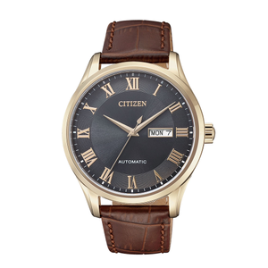 Citizen NH8363-14H Automatic Brown Leather Mens watch