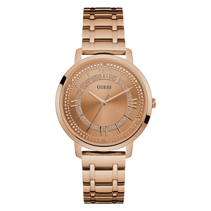 Guess Montauk W0933L3 Rose Gold Plated Womens Watch