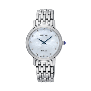 Seiko sup397P-9 Diamond Set Stainless Steel Ladies Watch