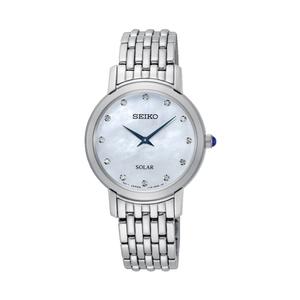 Seiko sup397P-9 Diamond Set Stainless Steel Ladies Watch