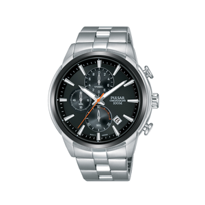 Pulsar PM3117X Stainless Steel Chronograph Mens Watch