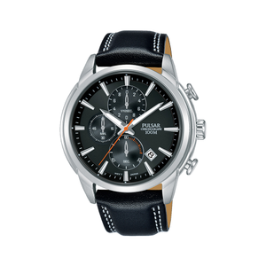 Pulsar PM3119X Stainless Steel Chronograph Mens Watch