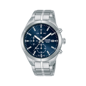 Pulsar PM3121X Stainless Steel Mens Chronograph Watch