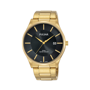 Pulsar PS9594X Gold Plated Stainless Steel Mens Watch