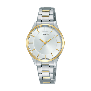 Pulsar PH8422X Two Tone Gold Plated Stainless Steel Ladies Watch