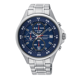 Seiko SKS625P Stainless Steel Chronograph Mens Watch