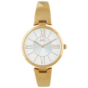 Jag Alannah J2203A Gold-Tone Womens Watch