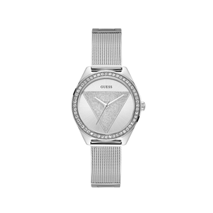 Guess Tri Glitz W1142L1 Silver Stainless Steel Womens Watch