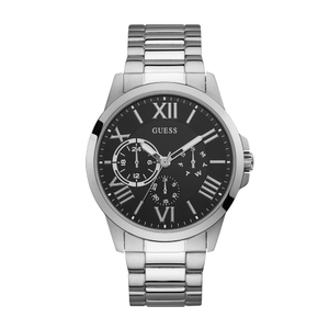 Guess Orbit W1184G1 Silver Stainless Steel Mens Watch