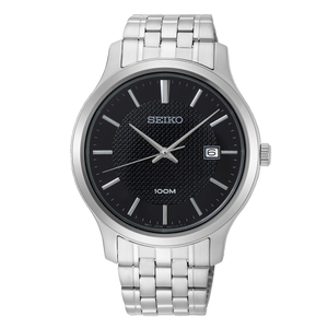 Seiko SUR293P1 Silver Stainless Steel Mens Watch
