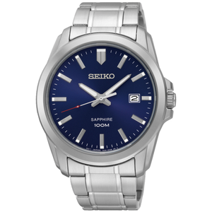 Seiko SGEH47P Silver Stainless Steel Mens Watch