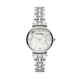 Armani Gianni T-Bar AR11170 Silver Stainless Steel Womens Watch