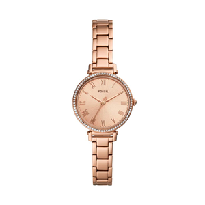 Fossil Kinsey ES4447 Rose-Coloured Stainless Steel Womens Watch