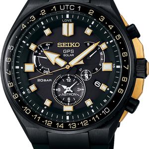 Seiko Astron GPS SSE174J1 Novak Djokovic Limited Edition Titanium Mens Watch