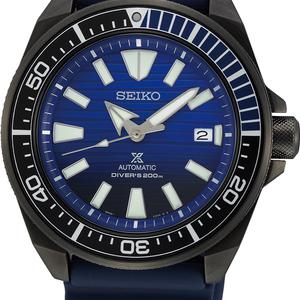 Seiko Prospex Diver SRPD09K Black Rubber Mens Watch