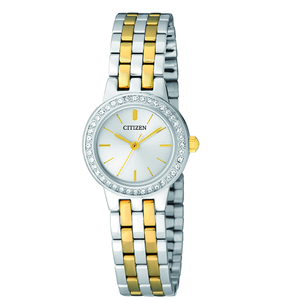 Citizen Swarovski Crystlas EJ6104-51A Stainless Steel Womens Watch