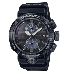 G-Shock Gravity Master Carbon GWR-B1000-1A1DR Black and Blue Resin Mens Watch