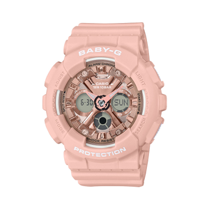 Casio Baby-G BA-130-4ADR White Resin Womens Watch