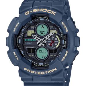 Casio G-Shock GA-140-2ADR Black Resin Mens Watch