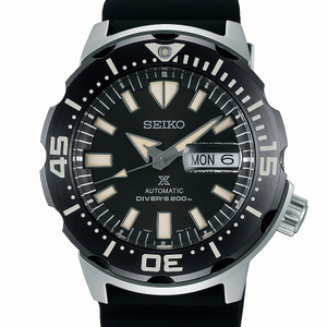 Seiko Prospex SRPD27K Black Silicone Mens Watch