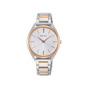 Seiko SWR034P Two-Tone Stainless Steel Ladies Watch
