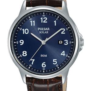 Pulsar PX3197X Brown Leather Mens Watch