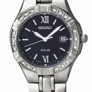 Seiko SUT067P-9 Diamond Set Stainless Steel Womens Watch