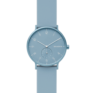 Skagen Aaren SKW6509 Blue Leather Womens Watch
