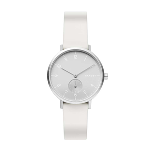 Skagen Aaren SKW2763 White Silicone Womens Watch