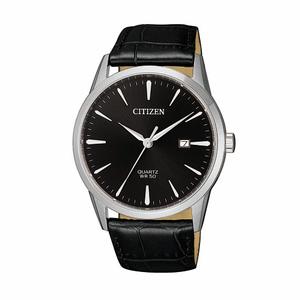 Citizen BI5000-10E Black Leather Mens Watch