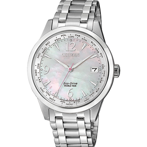 Citizen FC8001-87D Silver Stainless Steel Womens Watch