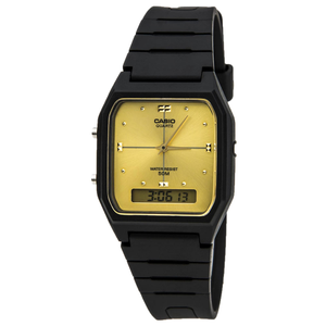 Casio Gold Analog and Digital Casual Classic Watch