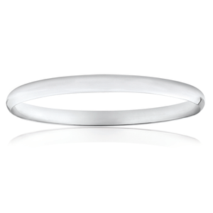 Sterling SilverPlain Golf 65mm Bangle