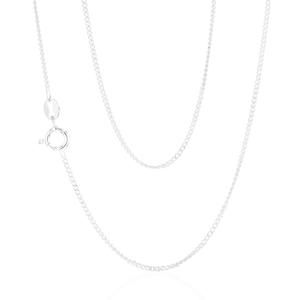 Curb 40cm Chain in Sterling Silver