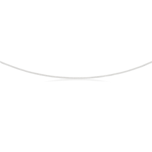 Sterling Silver Curb Dicut Chain