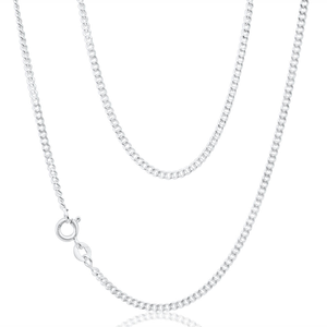 Sterling Silver 50cm Curb Chain